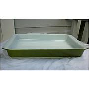 Vintage Pyrex Verde 933 Lasagna Baking Roasting Pan