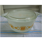 Pyrex Town and Country 474 Casserole with Lid 1 ½ Qt