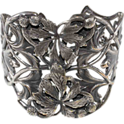 Joseff of Hollywood Silver Plated Cuff Bracelet
