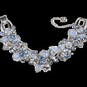 Juliana D&E Blue Givre' Rhinestone Bracelet