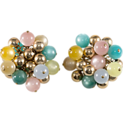 Napier LARGE Moonglow Multicolor Earrings