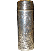 Shreve & Co. of San Francisco Sterling Silver Vanity Container