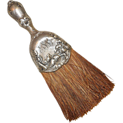 Late 1800's Sterling Silver Whisk Brush