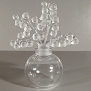 Lalique Clairefontaine Perfume Bottle - Lily of the Valley Design