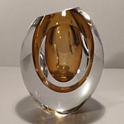 Kosta Paperweight Vase - Ventana - Mona Morales-Schildt