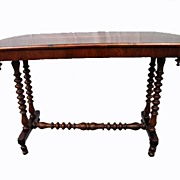 Circa 1835.  Fine, English Regency or William IV  Rosewood Table
