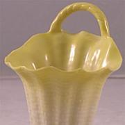Antique Worcester Porcelain Basket