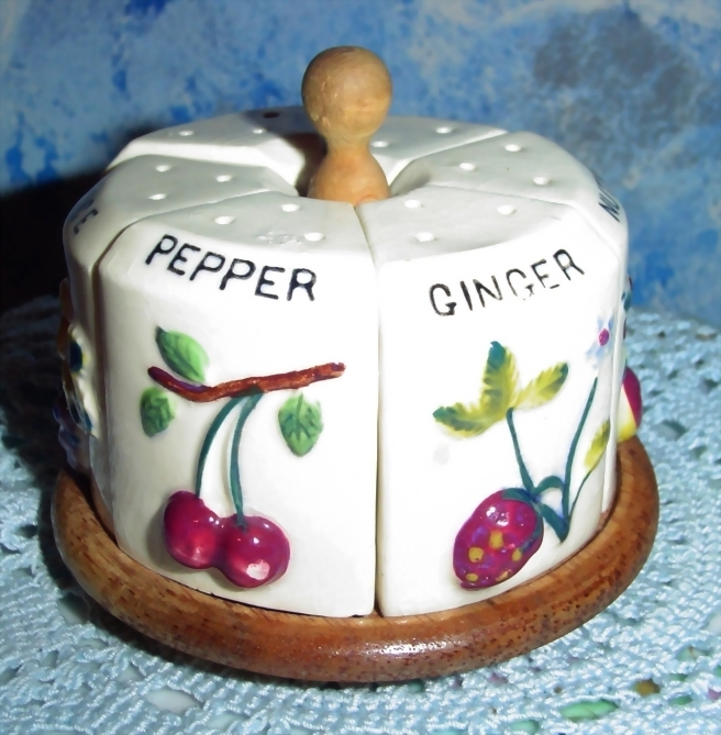 Vintage Relco  Spice Rack
