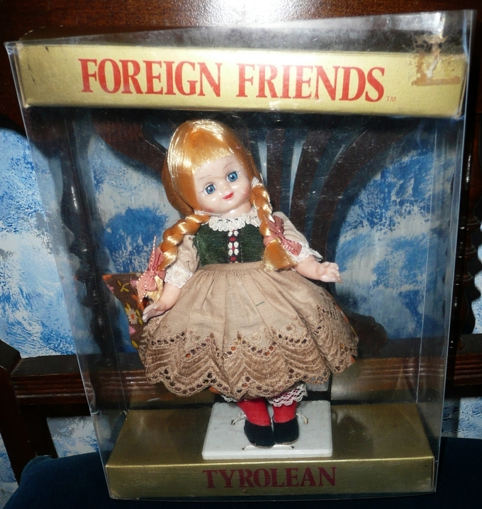Foreign Friends Doll  #111 'Tyrolean'