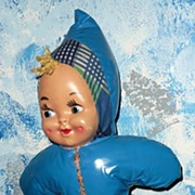 1950's  Plastic Mask  Face Clown/ Doll