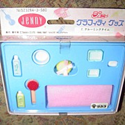 1980's Takara Jenny Doll Graffity Goods With Dakko Chan *NRFB