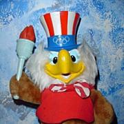 1980 Olympic Eagle Mascot