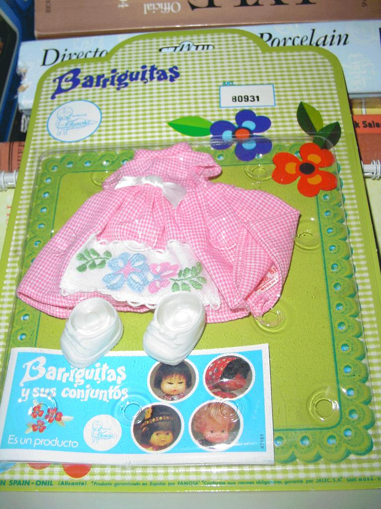 1970's Barriguita Doll  Outfit *Spain