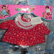 "REDUCED Vintage 'Premier' 11""-12"" Baby & Toddler Outfit"