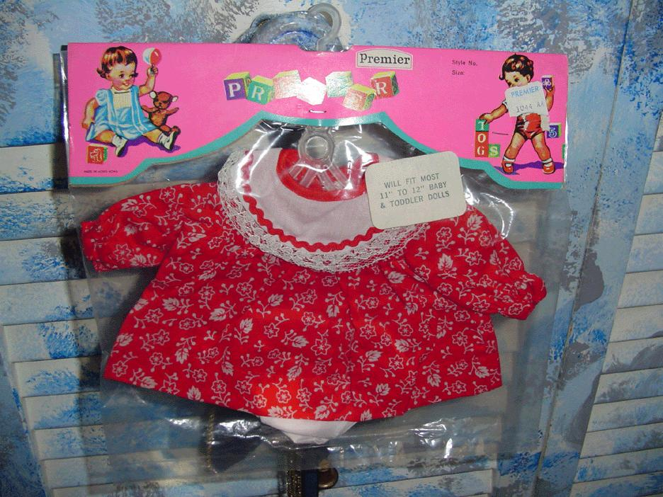 """Vintage 'Premier' 11""""-12"""" Baby & Toddler Outfit"""