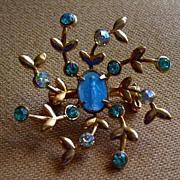 Beautiful Miraculous Medal  Stone & Enamel Pin MINT!