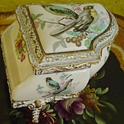 Unique M.B.K. Birds Music Box