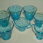 'Capri' Hazel Ware 1960 Lot of Glasses