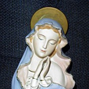 Vintage 'Sanmyro' Praying Holy Virgin Mary