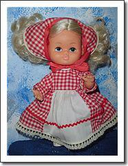 Cute Vintage Little Doll