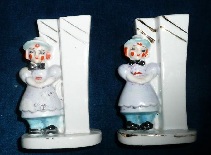 Raggedy Ann and Andy  Toothbrush Holders