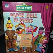 1976  Whitman Sesame Street Paper Dolls *MINT Uncut