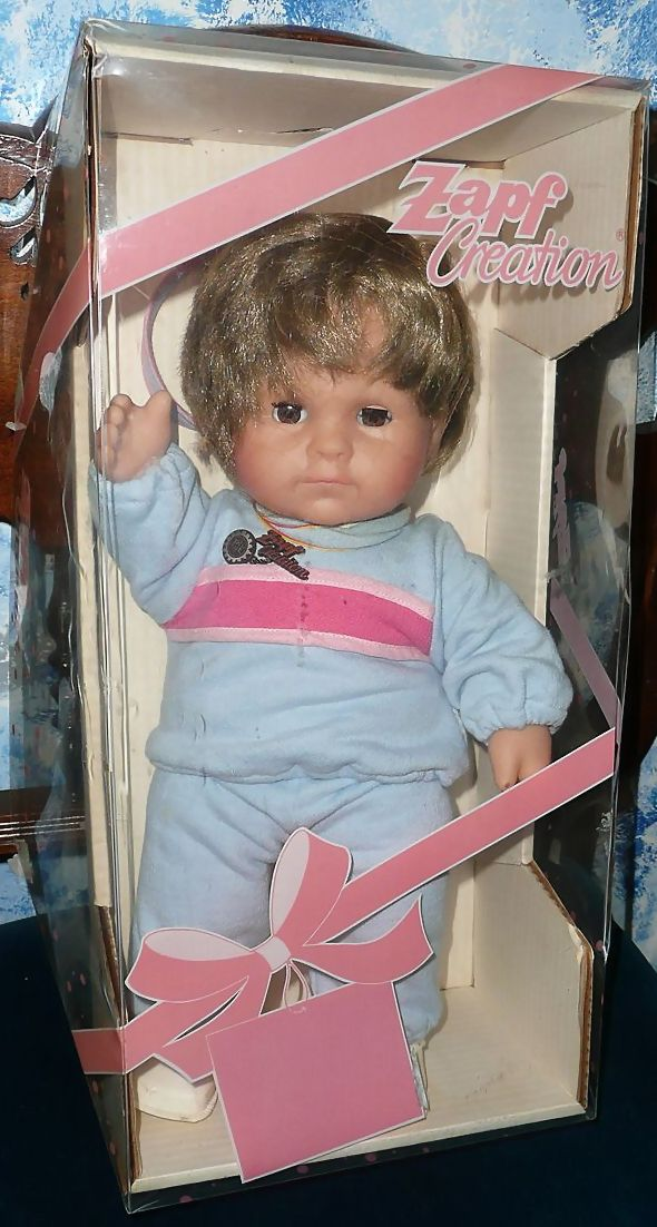 ZAPF CREATION  Baby Krauts  Vintage Baby Girl Doll *New in Box