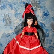 "Spanish Senorita 8""  like  Nancy Ann  Doll"