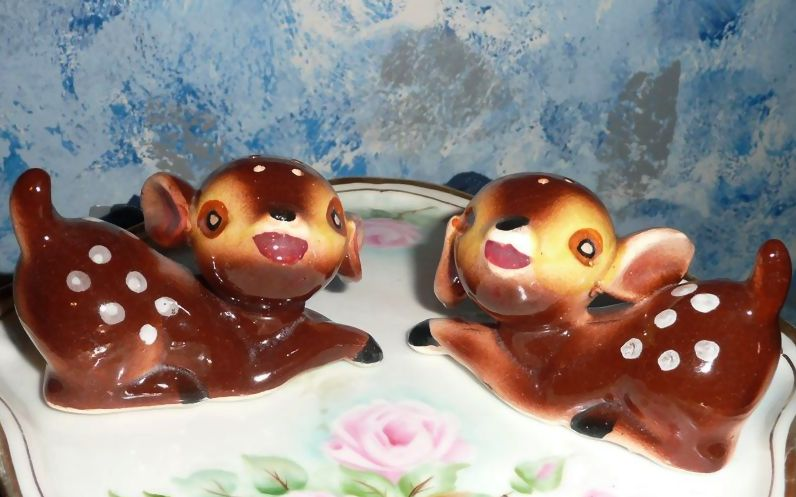 Bambi Salt and Pepper Shakers *New