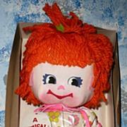 1971 Little Miss Muffet Musical Doll *NIB