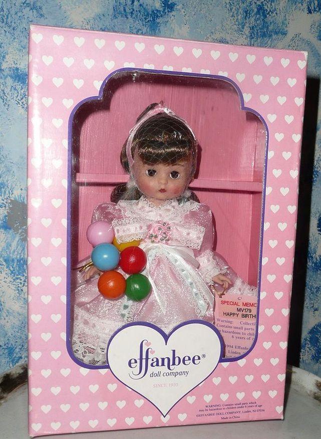 1994 Effanbee Vintage  'Happy Birthday Doll'    *NIB