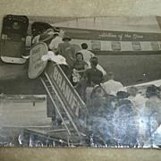 1959 Cuban Airport Exodus Black/White Picture