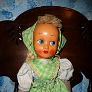 """Pretty Old mask Face 16""""  Doll"""