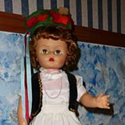 1950's All Original Big Doll