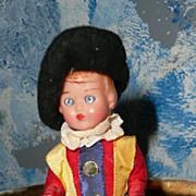 Cute Little  British Guard Vintage Fellow