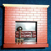 Doll House Vintage Fire Place