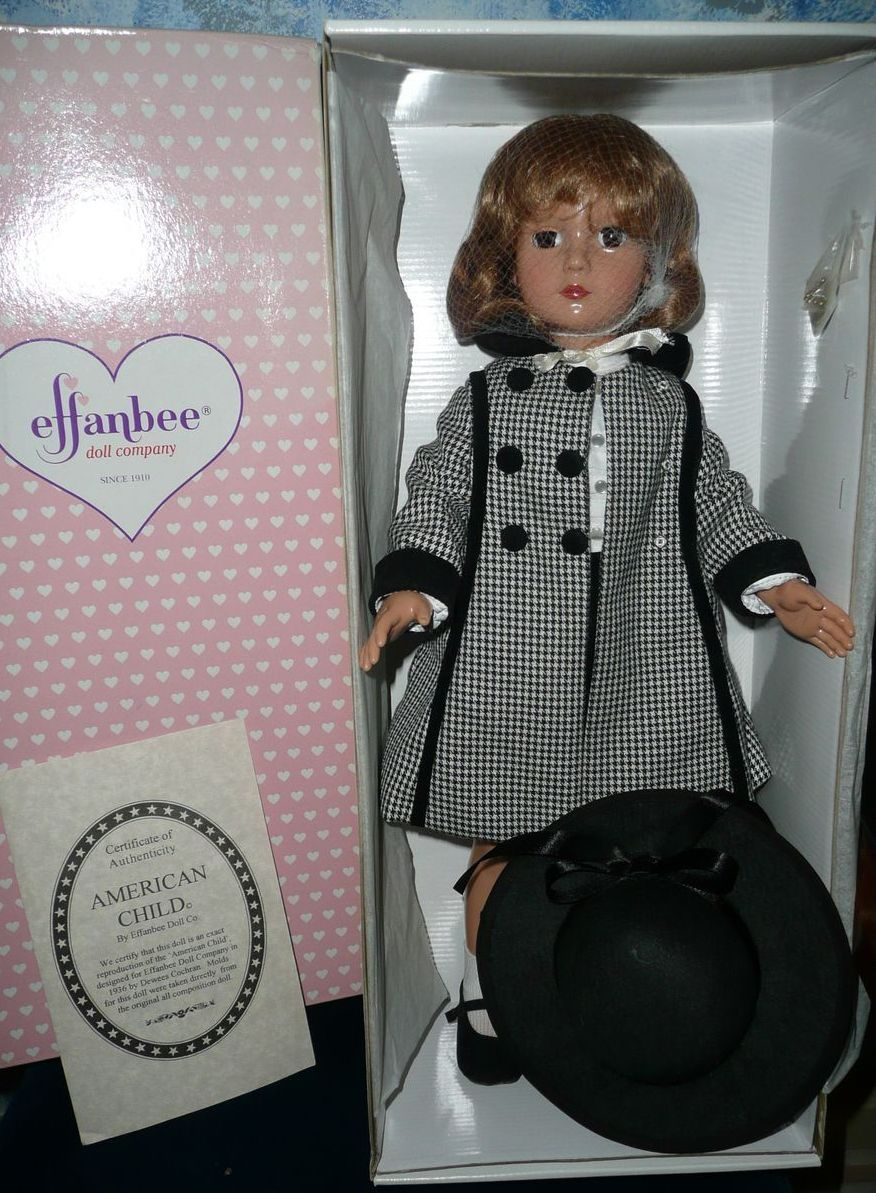 Effanbbee American Child Stamp Doll *NRFB **MINT!