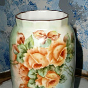 Romantic German Yellow Roses   Vase