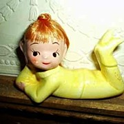 Yellow Pixie Elf with Hair