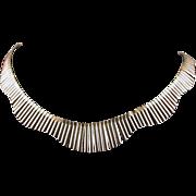 Sterling/Vermeil Italian 16-inch Necklace, Elegant!