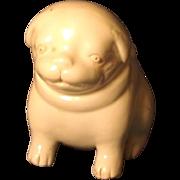 Fine Antique 18th c. Hirado Blanc de Chine Porcelain Dog or Puppy Form Water Dropper