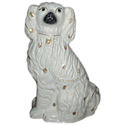 Large Antique 19th century Staffordshire Spaniel