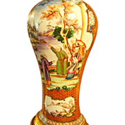 Fine Antique 18th century Chinese Export Porcelain Vase as a Lamp