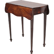 Antique 18th century Georgian Mahogany Diminutive Pembroke Table