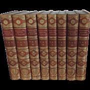 Fine Leather Bindings 19th century Macaulay's History of England 1889