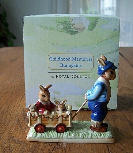 Royal Doulton Childhood Memories Bunnykins Figurine