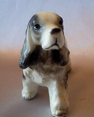 Cocker Spaniel Dog Figurine from Japan