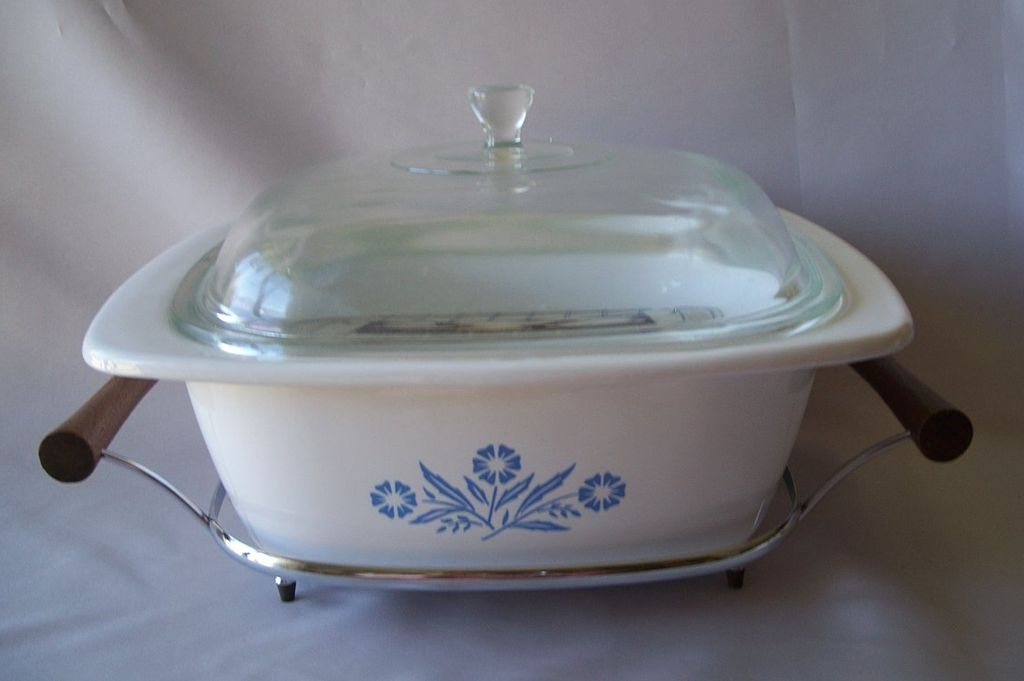 Corning Ware Dutch Oven Serving Tray Rack Pamphlet