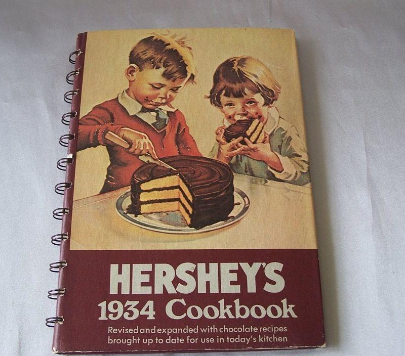 Hershey's 1934  CookBook   Reprint Edition