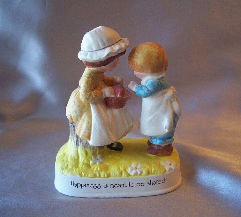 Holly Hobby Ceramic Figurine 1974